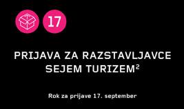 Prijava za razstavljavce Sejem Turizem²