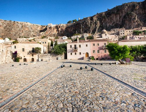 """Water Paths"" – the renovation of Chrysafitissa Square in Monemvasia"