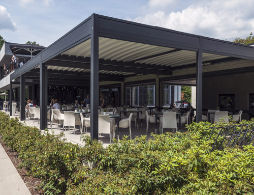 Podjetje KE je zasnovalo novo območje za restavracijo Kempense Golf Club v kraju Mol, Belgija