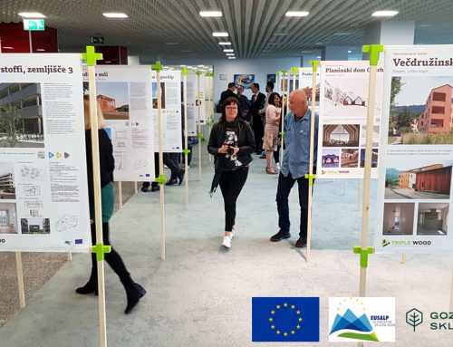 TRIPLE WOOD– kultura trajnostne lesene gradnje v Alpski makroregiji